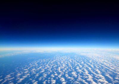 The North Sea (altitude 35,000 feet) © NICHOLSON CREATIVE