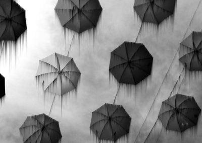 Umbrellas © NICHOLSON CREATIVE