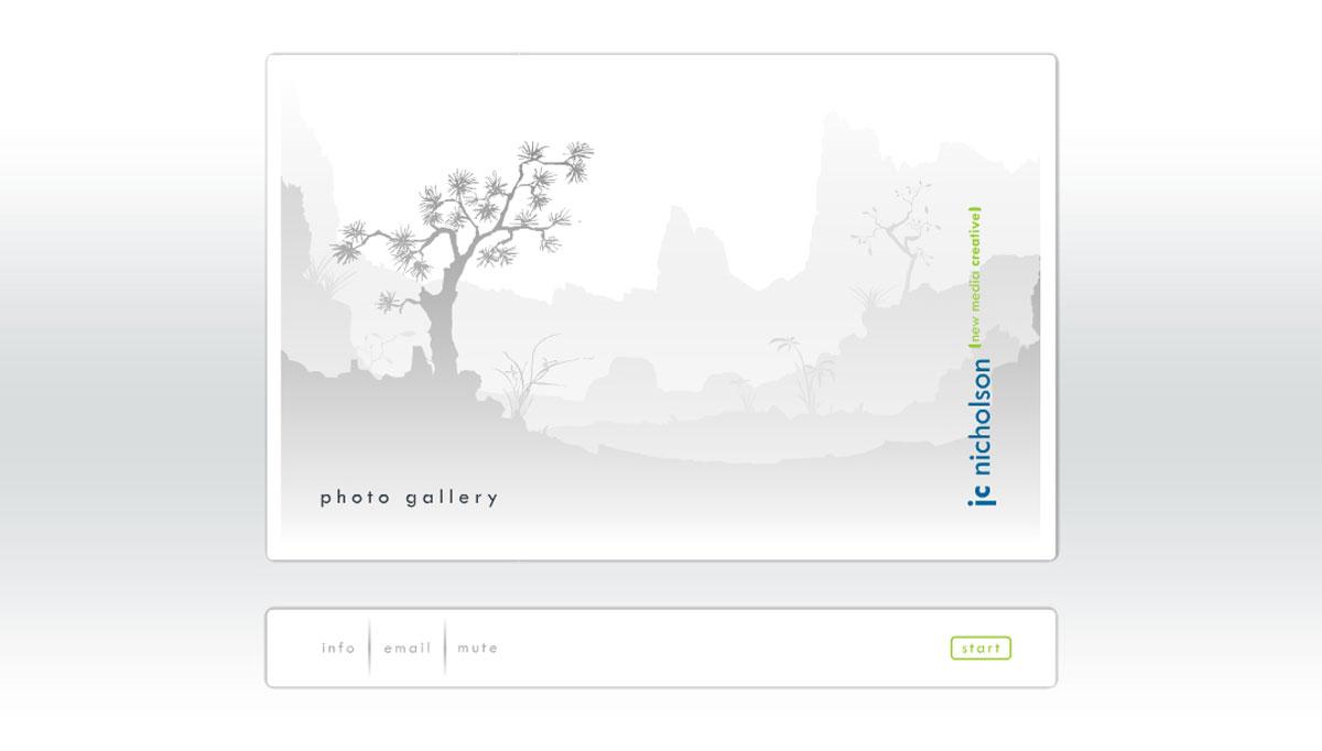 Nature themed portfolio © NICHOLSON CREATIVE