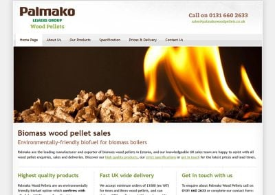 Palmako Wood Pellets