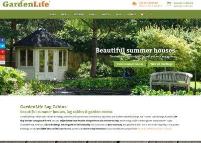 GardenLife Log Cabins