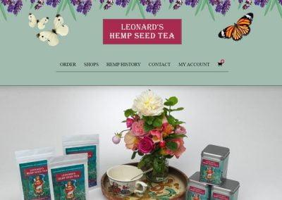 Leonards Hemp Seed Tea